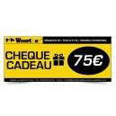 CHÈQUE CADEAU WOERTHER 75 EUROS