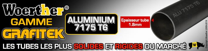 Tube aluminium 7175 T6