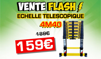 Vente flash échelle 4m40 woerther