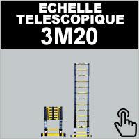 Echelle télescopique 3,20 mètres